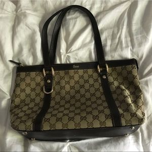 VINTAGE GUCCI MEDIUM ABBEY TOTE